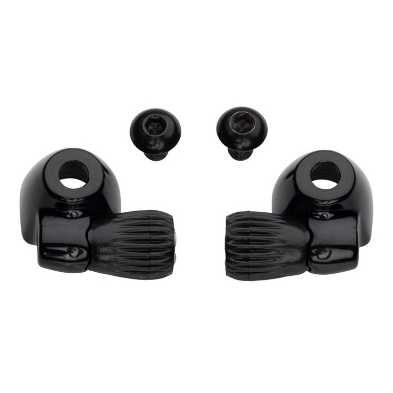 Picture of Problem Solvers Downtube Cable Adjusters for Steel Frames - black