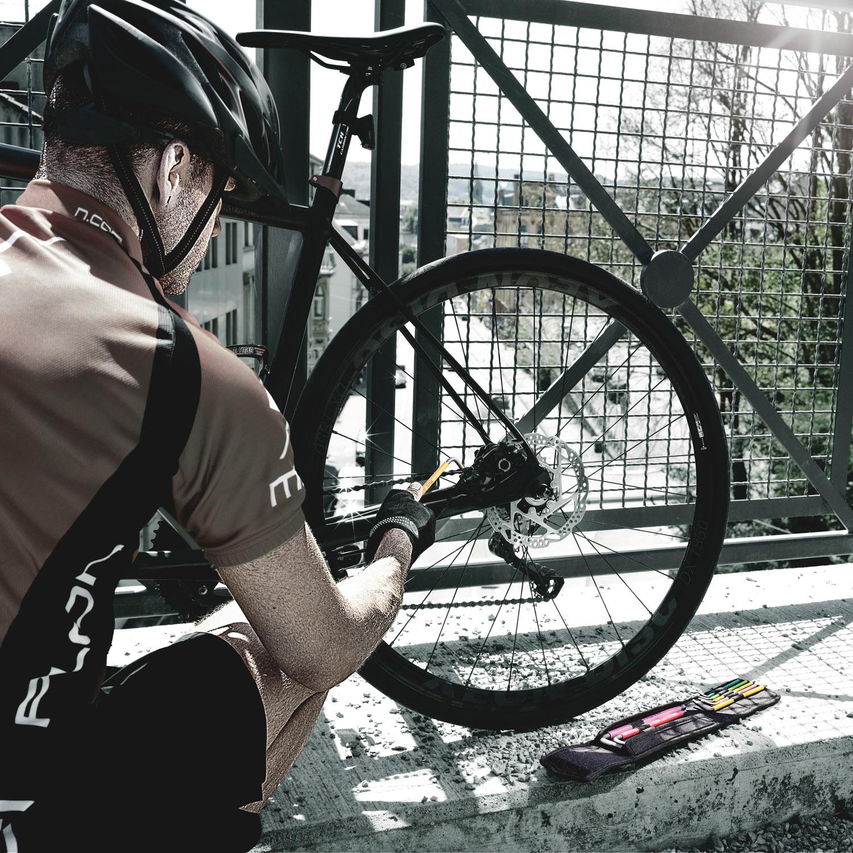 Bild von Wera Bicycle Set 4 - Winkelschlüsselsatz mit Haltefunktion