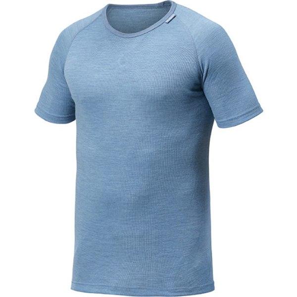 Woolpower Tee LITE Unisex Kurzarm-Unterhemd - nordic blue