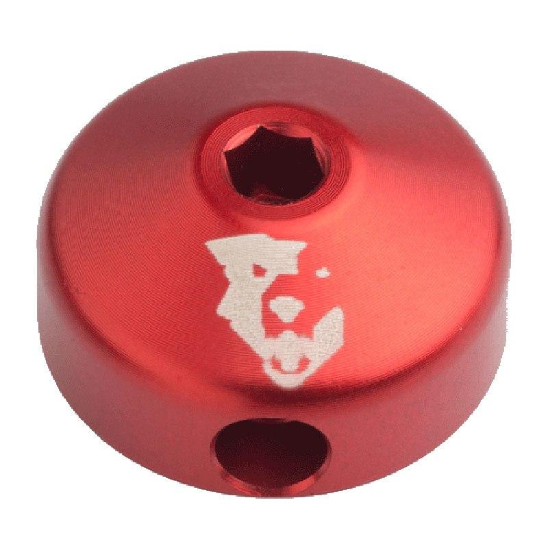 Bild von Wolf Tooth Low-Profile Zugstufen Deckel/Einstellknopf für Fox Dämpfer