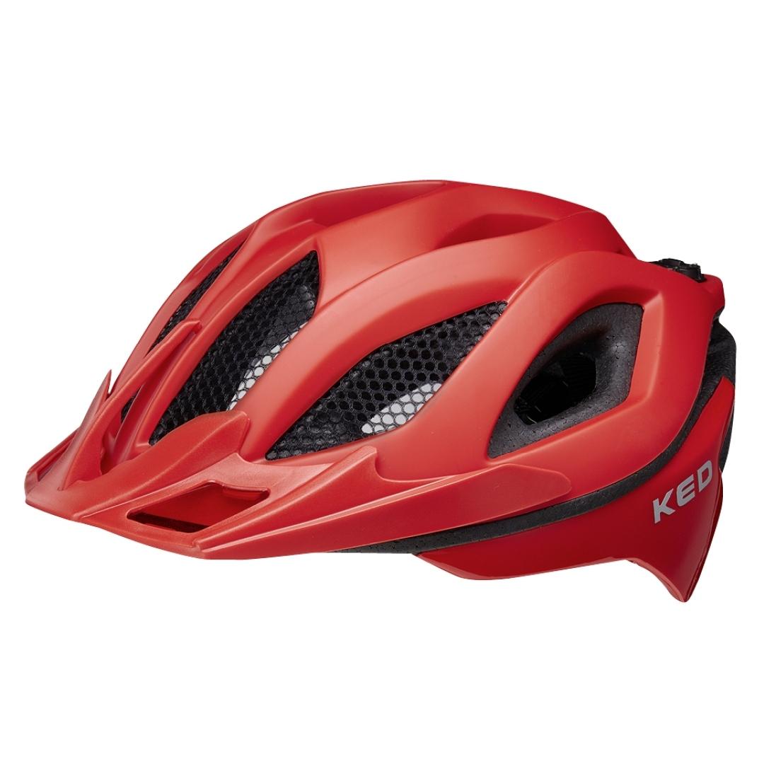 KED Spiri Two Helm - fiery red matt