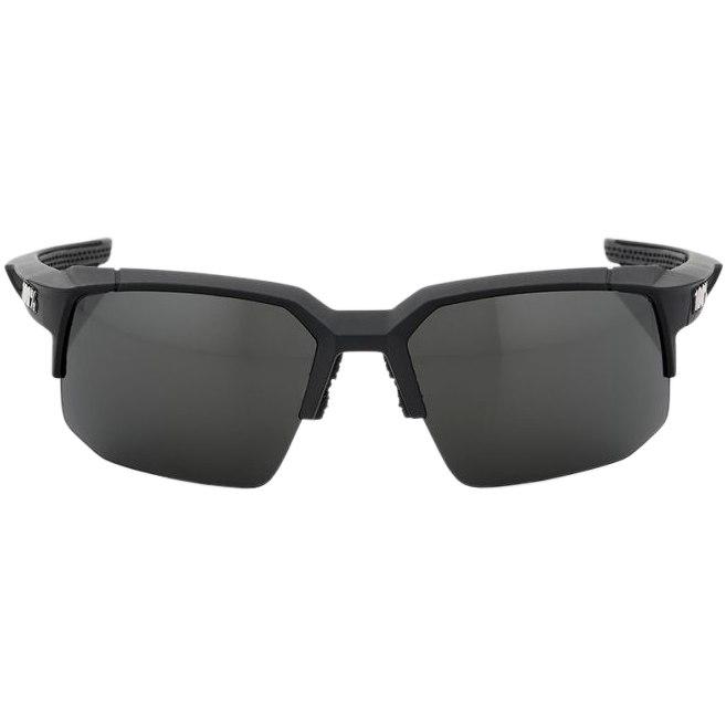 Imagen de 100% Speedcoupe Smoke Lense - Soft Tact Black