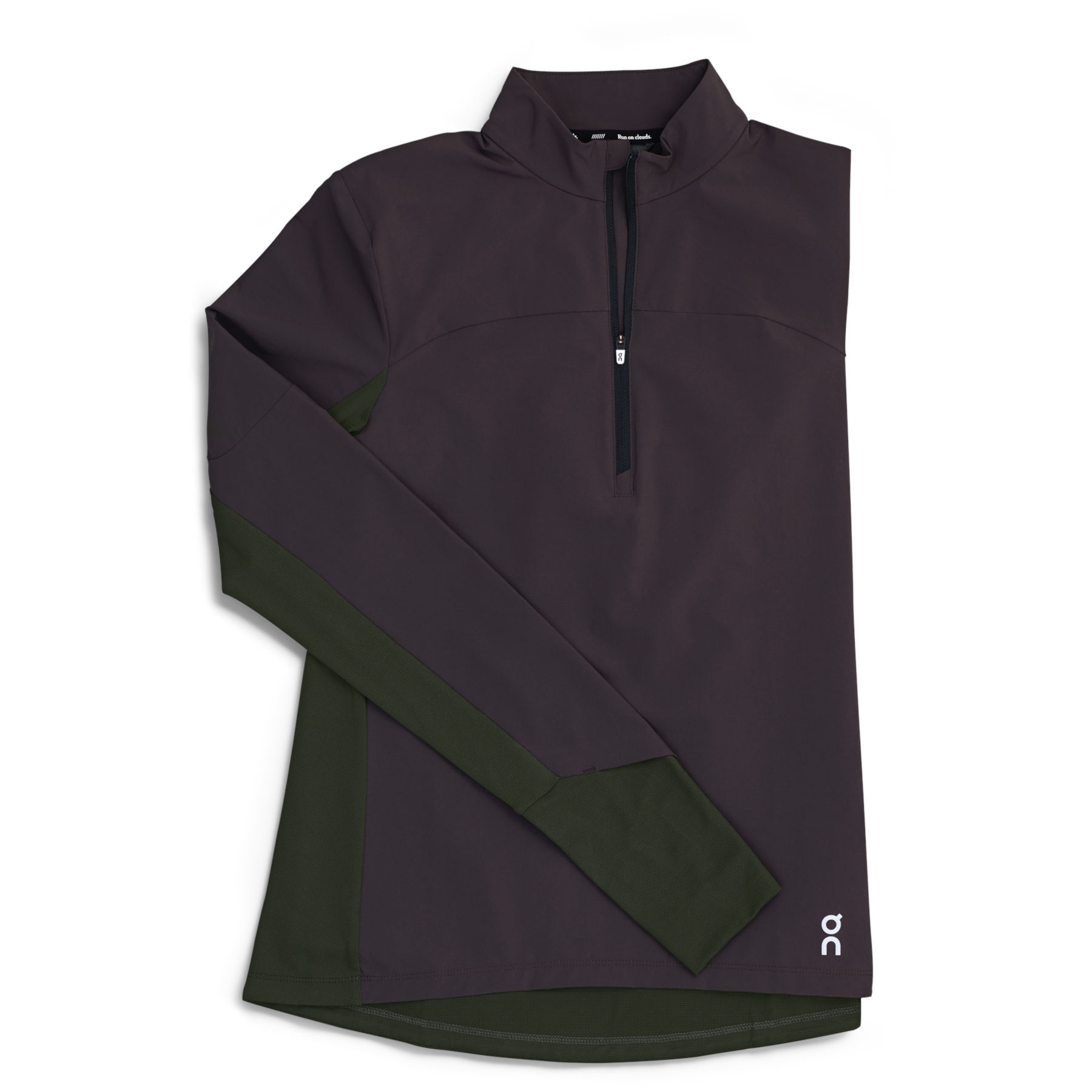 Produktbild von On Trail Breaker Damen Langarm-Laufshirt - Pebble & Shadow
