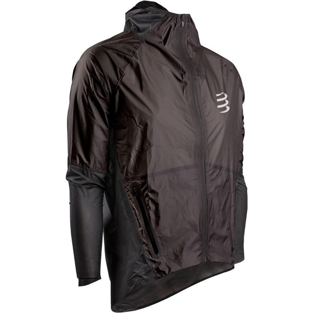 Foto de Compressport Hurricane Waterproof 25/75 Jacket Unisex - black