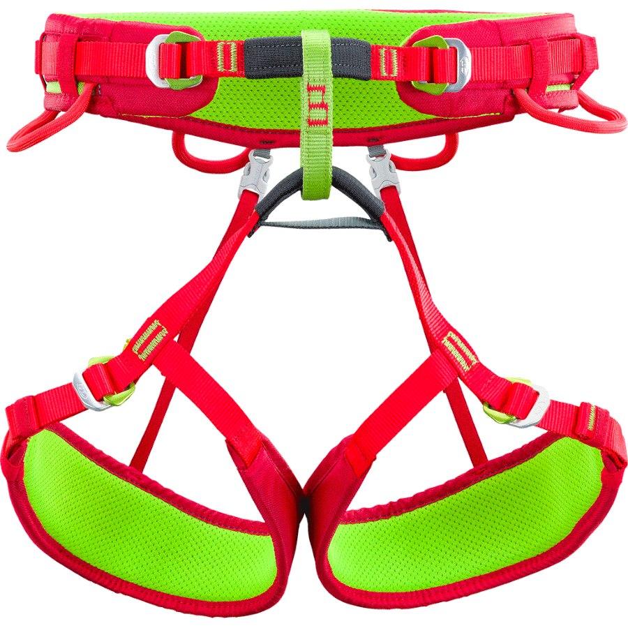 Climbing Technology Anthea Womens Harness - green/pink
