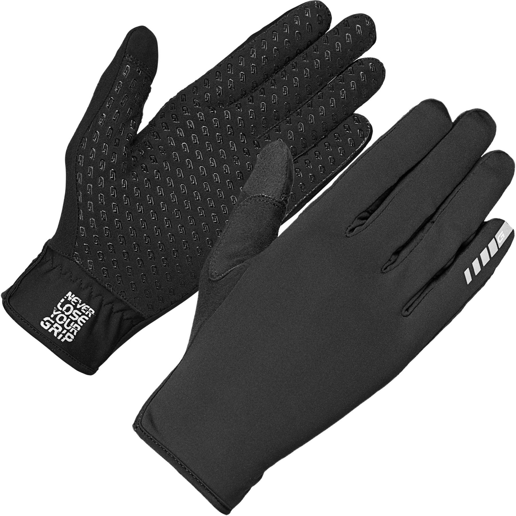 GripGrab Raptor Windproof Lightweight Raceday Winter Glove - Black