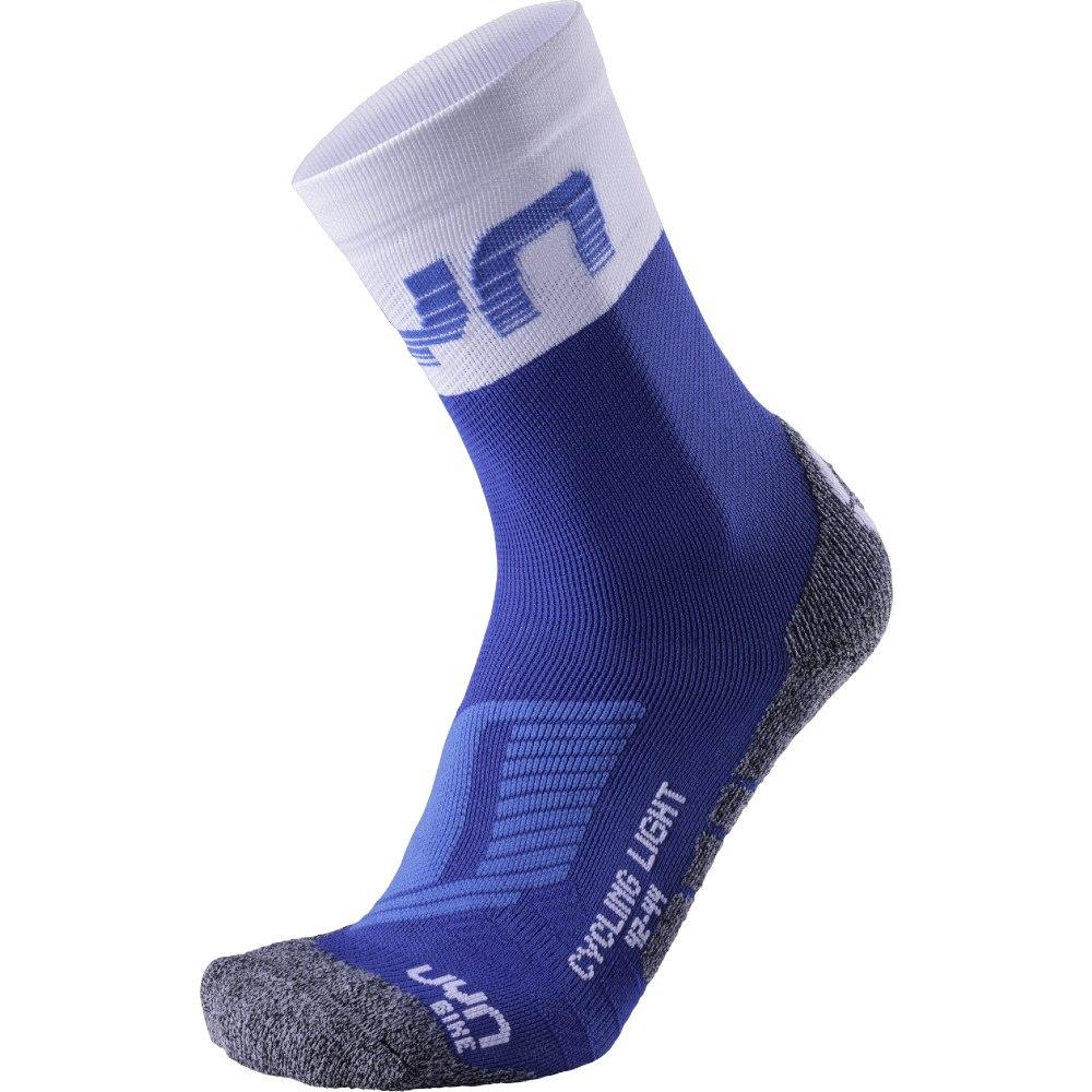 UYN Cycling Light Herren Socken - French Blue/White