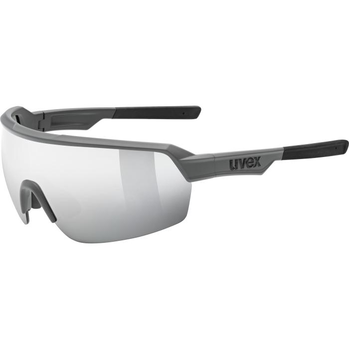 Uvex sportstyle 227 Brille - grey mat - mirror silver