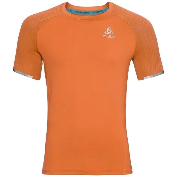 Produktbild von Odlo Herren BL TOP ZEROWEIGHT CERAMICOOL LIGHT T-Shirt 312822 - 30382 orange clown fish