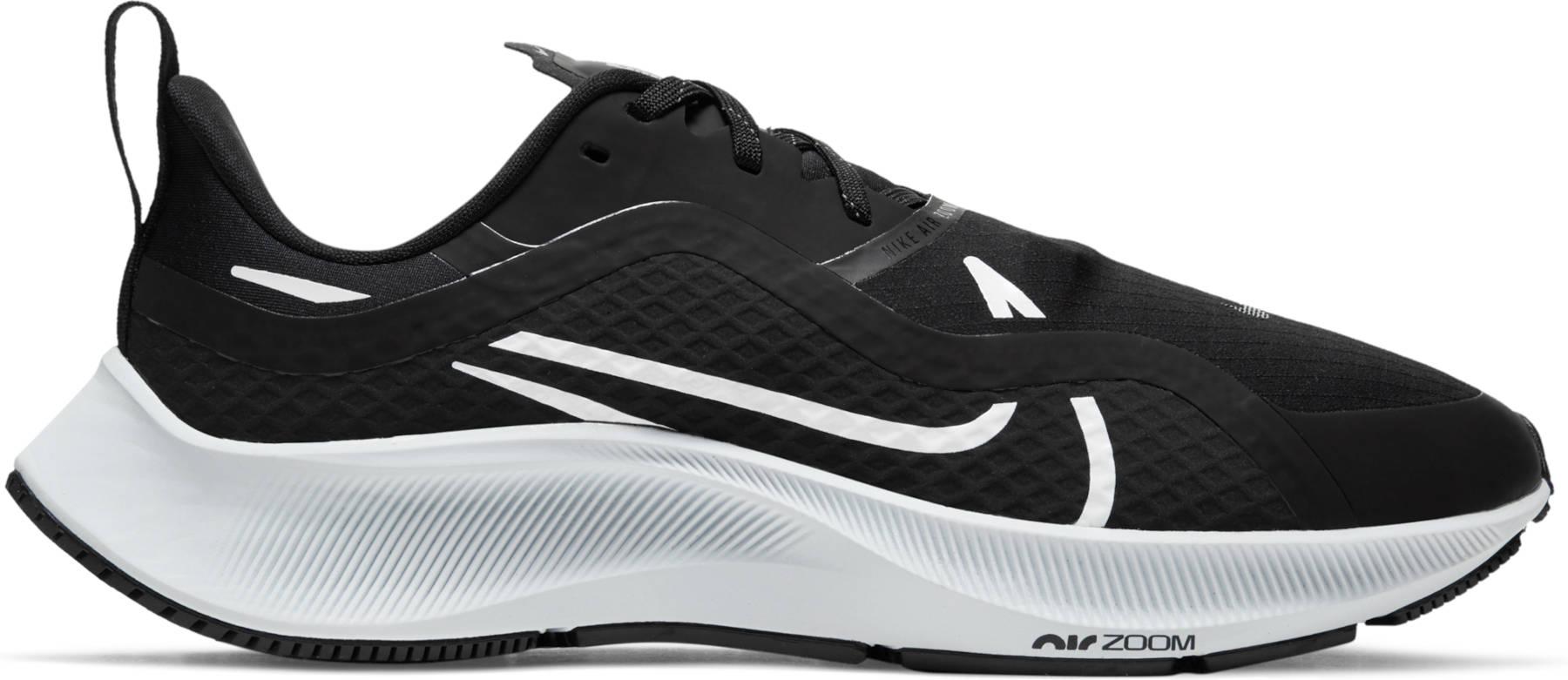 Produktbild von Nike Air Zoom Pegasus 37 Shield Damen-Laufschuh - black/white-pure platinum-reflective silver CQ8639-002