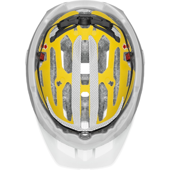 Image of Uvex quatro cc MIPS Helmet - white - sky