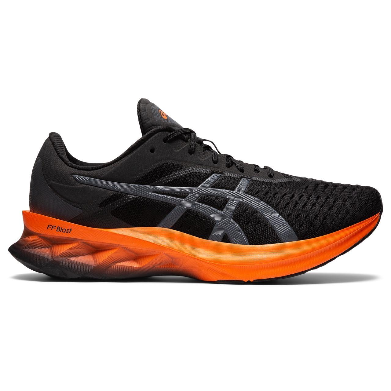 asics Novablast Zapatillas de correr - black/marigold orange