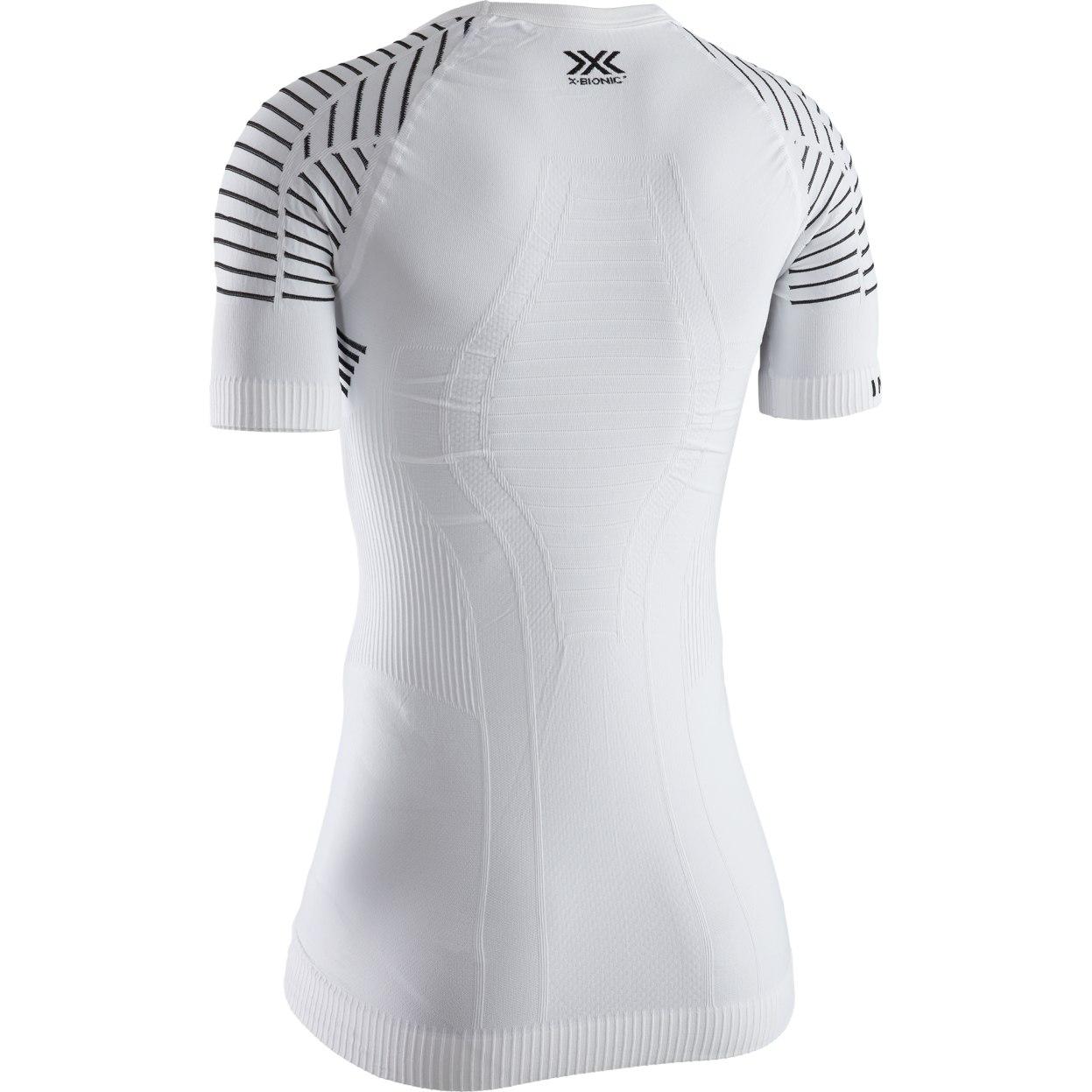 Image of X-Bionic Invent 4.0 LT Shirt Round Neck Short Sleeves Shirt for Women - arctic white/dolomite grey