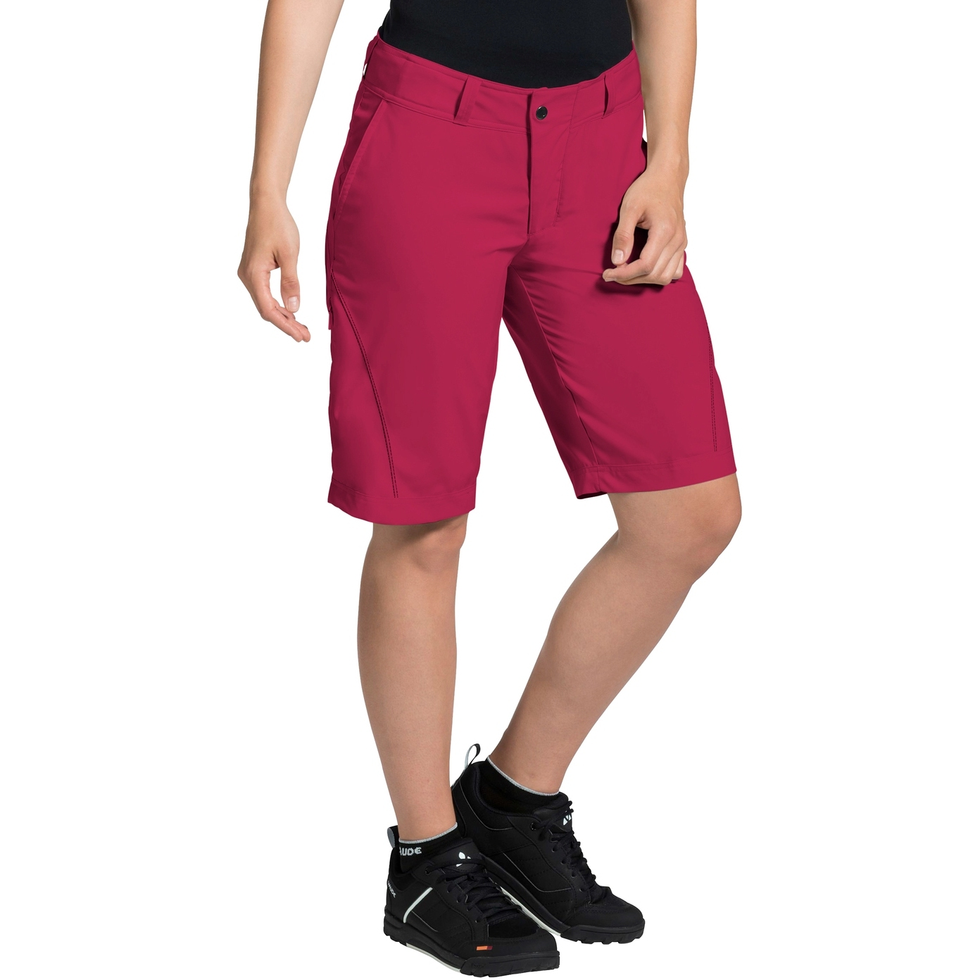 Bild von Vaude Ledro Damen Shorts - crimson red