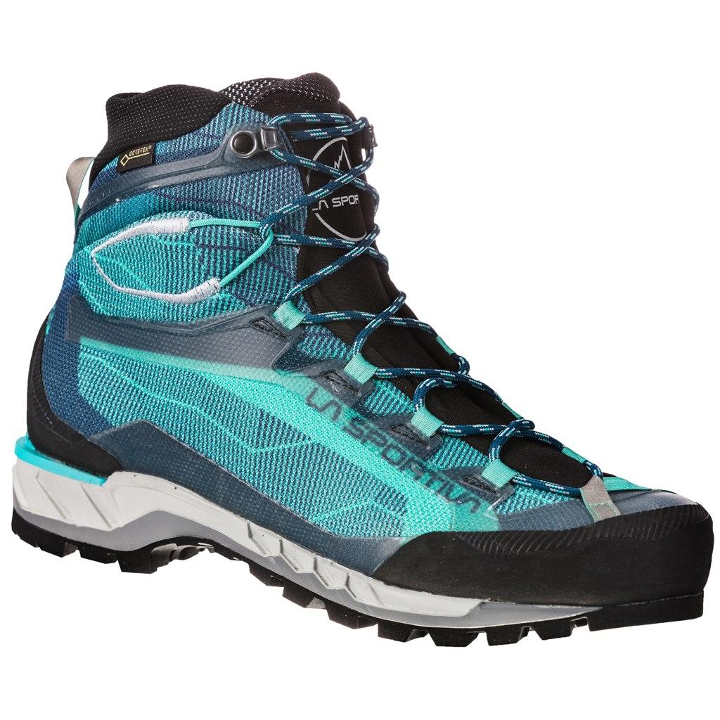 La Sportiva Trango Tech GTX Mountaineering Shoes Women - Aqua/Opal
