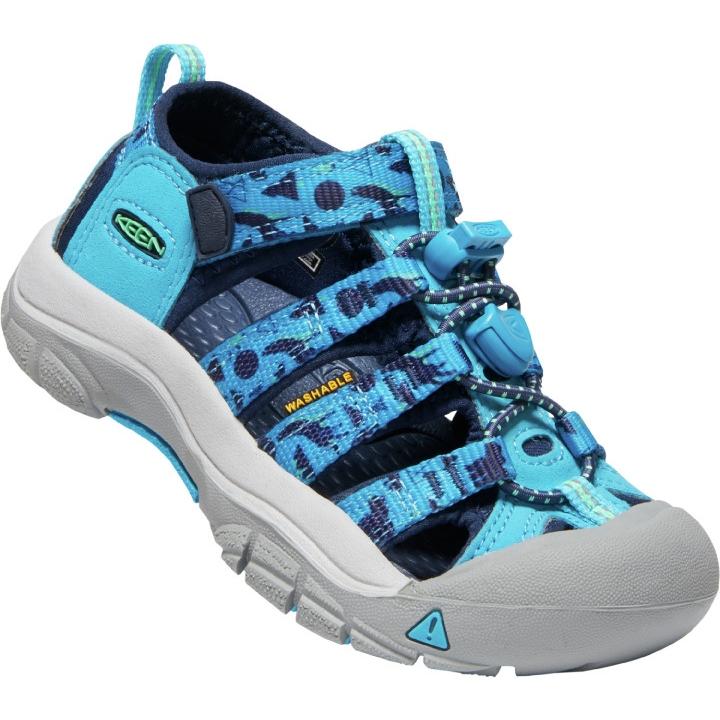 KEEN Newport H2 Kinder-Sandale - vivid blue/katydid