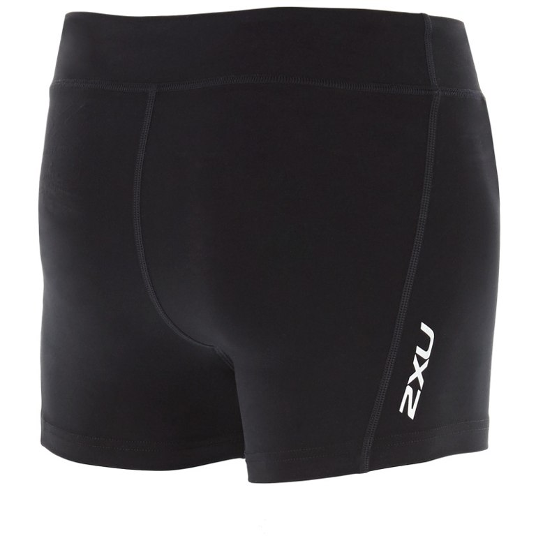 "Imagen de 2XU Fitness Compression Women's 4"" Shorts WA4482b - black/silver"