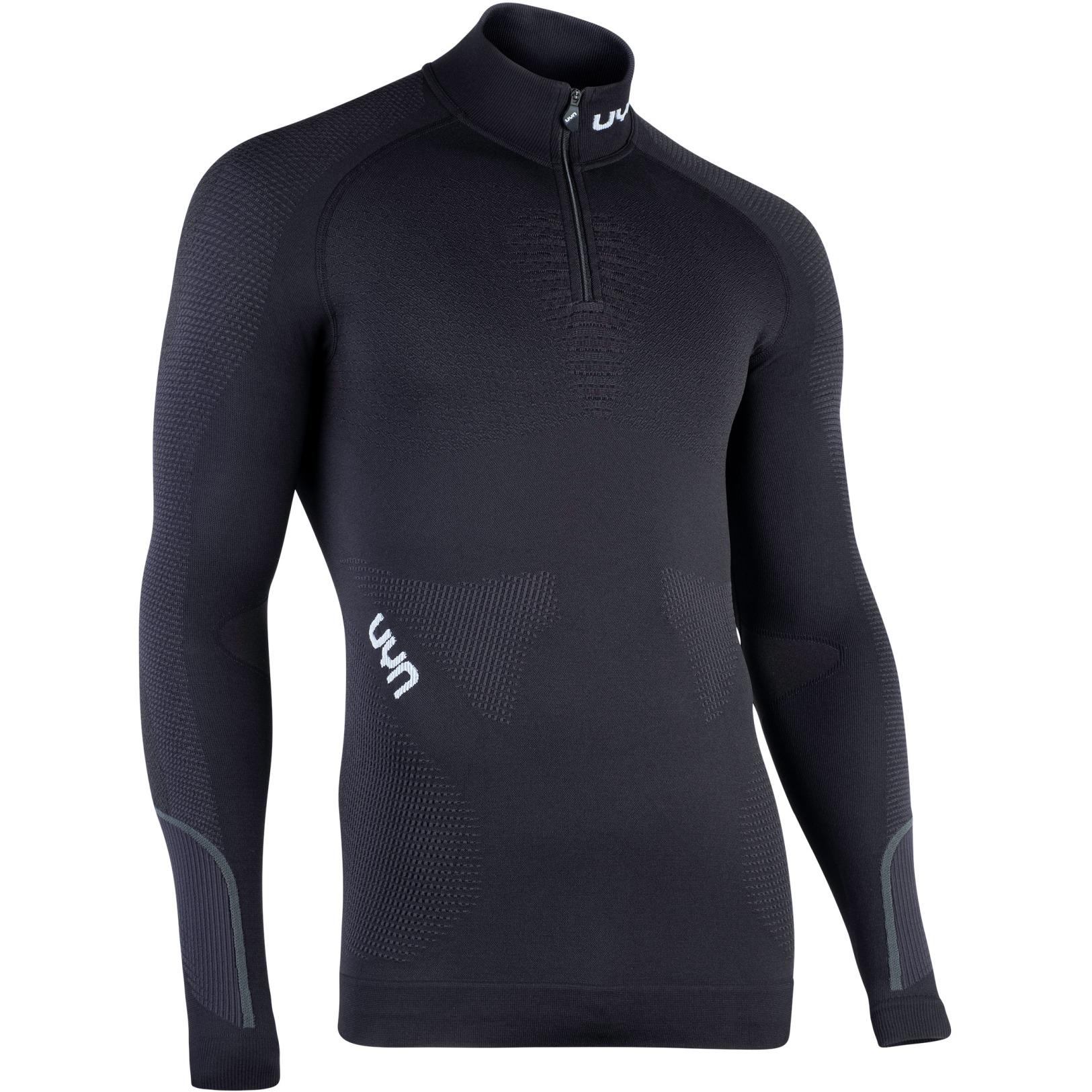 UYN Ambityon Underwear Turtle Neck Shirt - Blackboard/Black/White