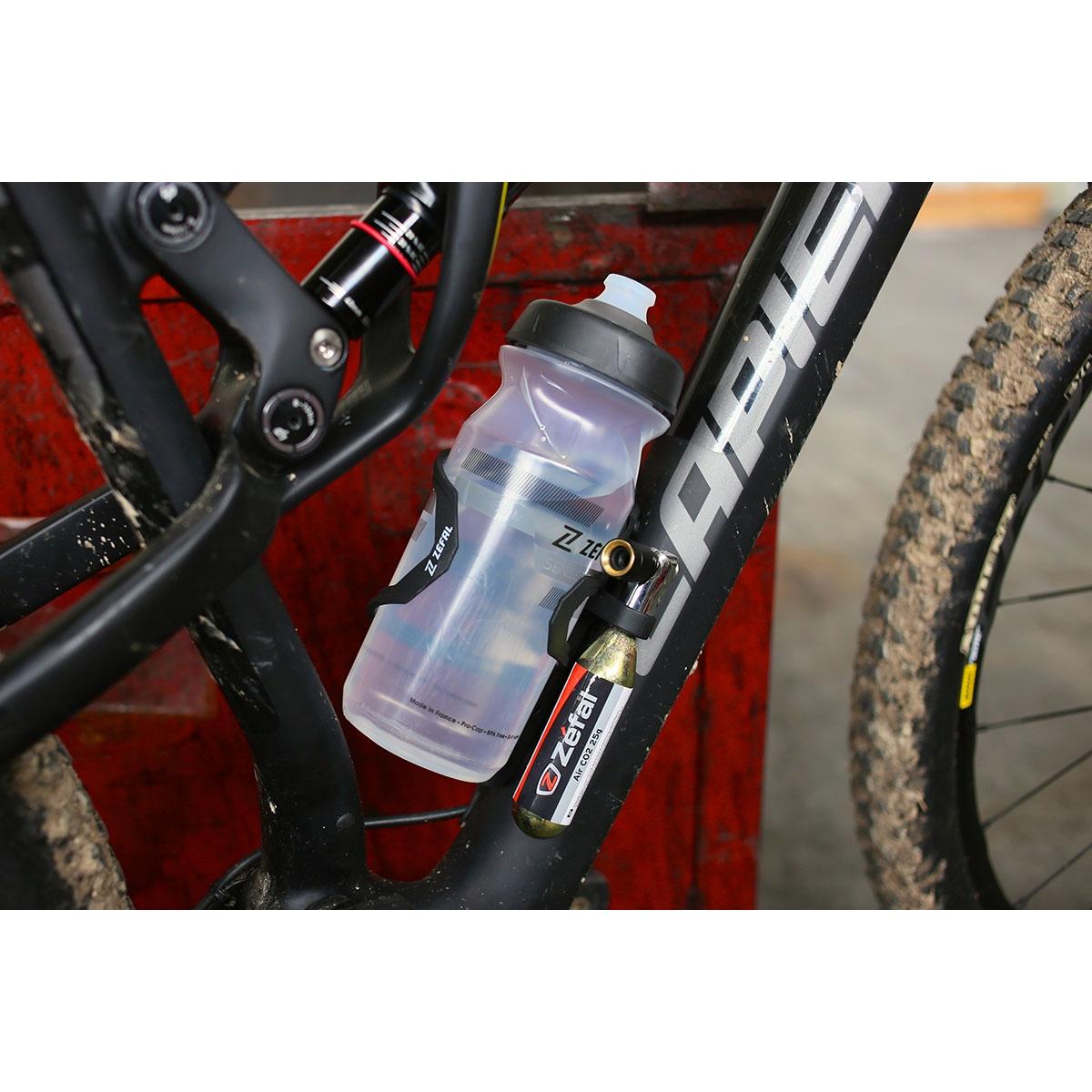 Bild von Zéfal Pulse Z2i Flaschenhalter + EZ Big Shot + 2X25g CO2 Kartuschen