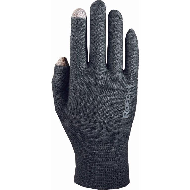 Picture of Roeckl Kapela Multisport Liner Gloves - anthrazit melange 0085