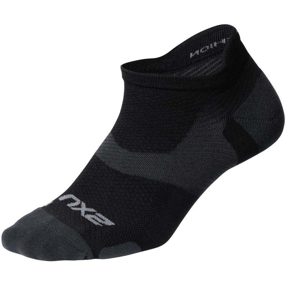 2XU Vectr Light Cushion No Show Calcetines - black/titanium