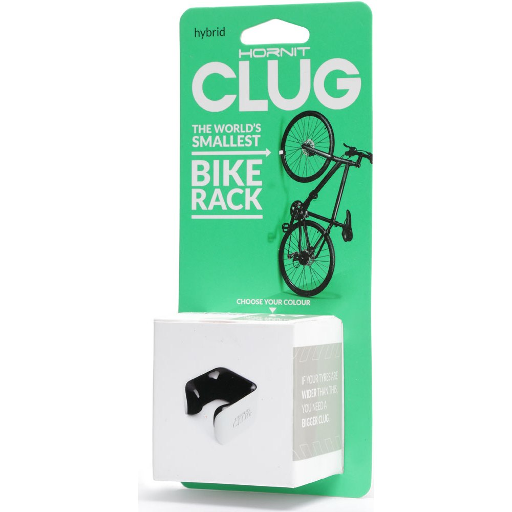 Image of CLUG Hybrid Wall Rack (33 - 43mm) - white-black