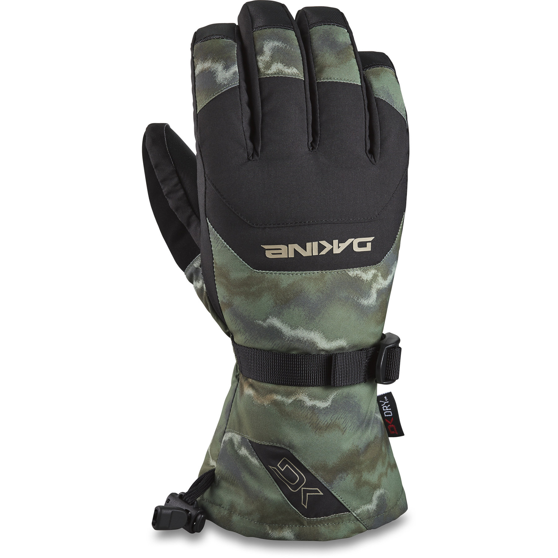 Picture of Dakine Scout Gloves - Olive Ashcroft Camo/Black