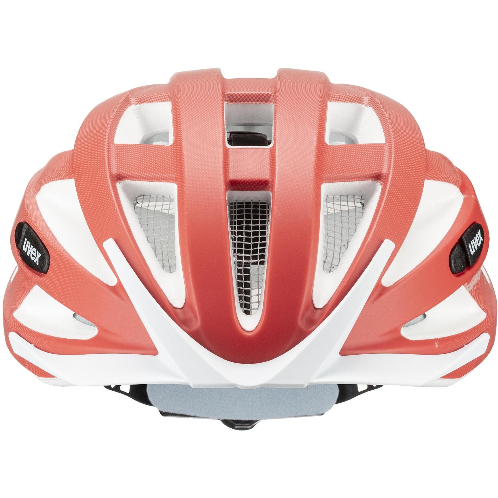 Image of Uvex air wing cc Helmet - dust rose-grapefruit mat