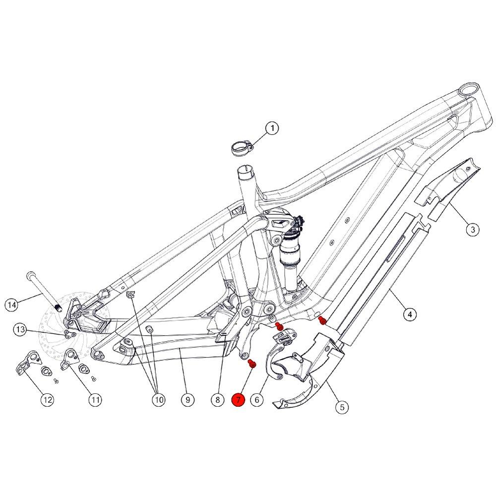 BMC Motor Bolts - 301244
