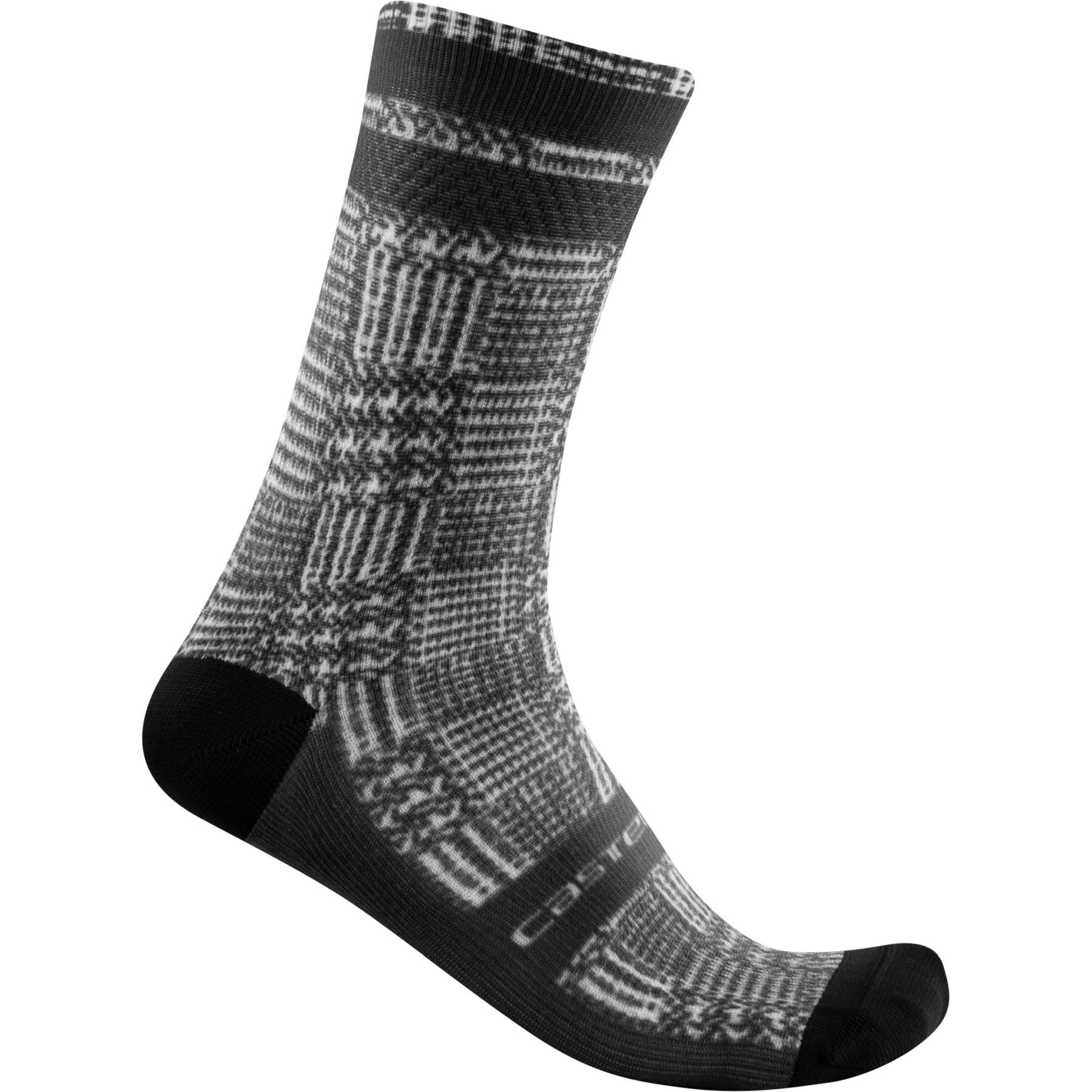 Castelli Maison 18 Socks - black/white 101