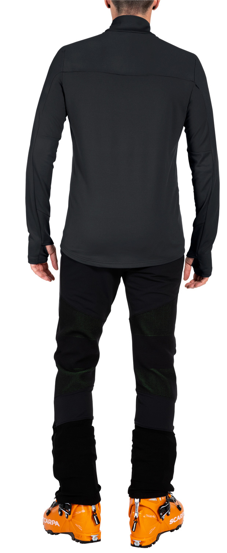 Bild von Vaude Livigno Halfzip II Pullover - schwarz