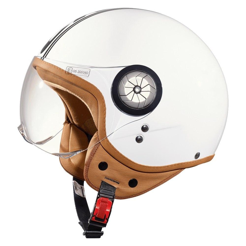 CRATONI Milano Helmet - white-black glossy