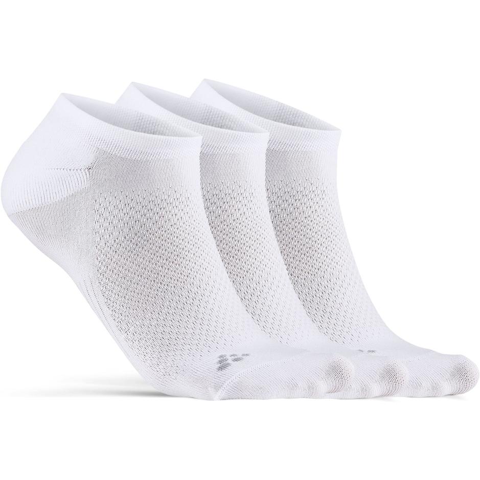 CRAFT Core Dry Footies Sock 3-Pack 1910638 - 900000 White