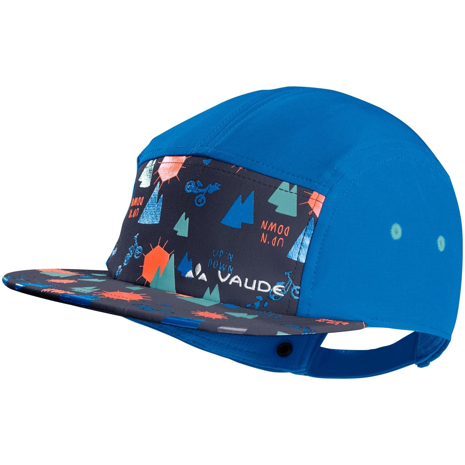 Vaude Kids Tammar Baseball Cap - radiate blue/eclipse