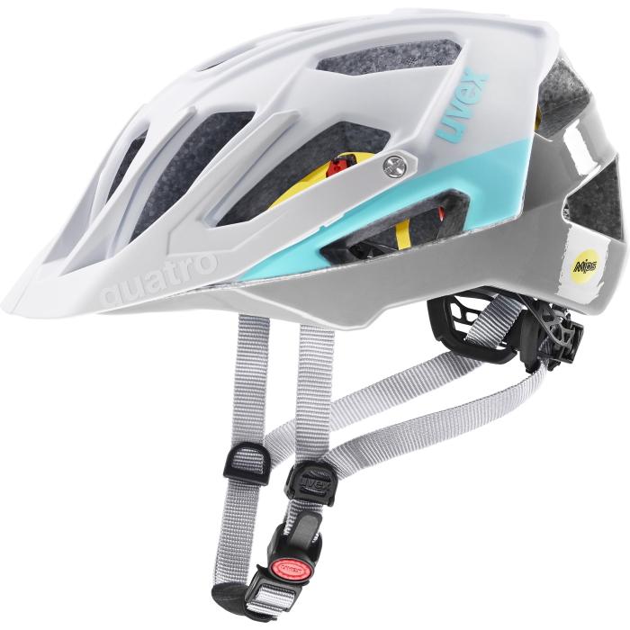 Uvex quatro cc MIPS Helmet - white - sky
