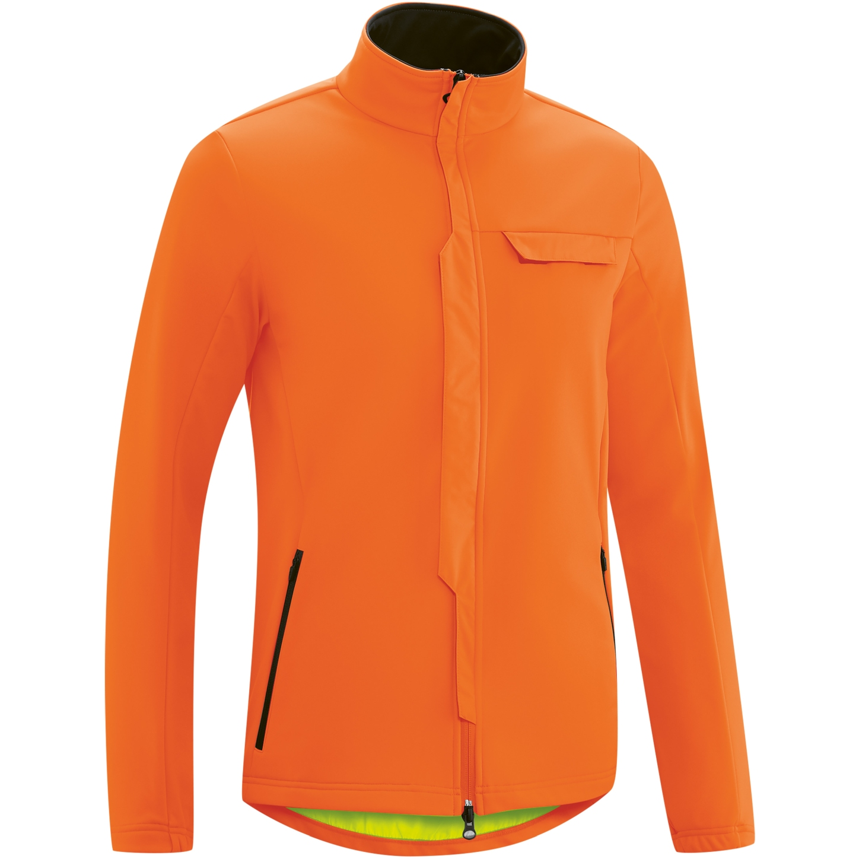 Gonso Ternes Men's Softshell Jacket - Red Orange