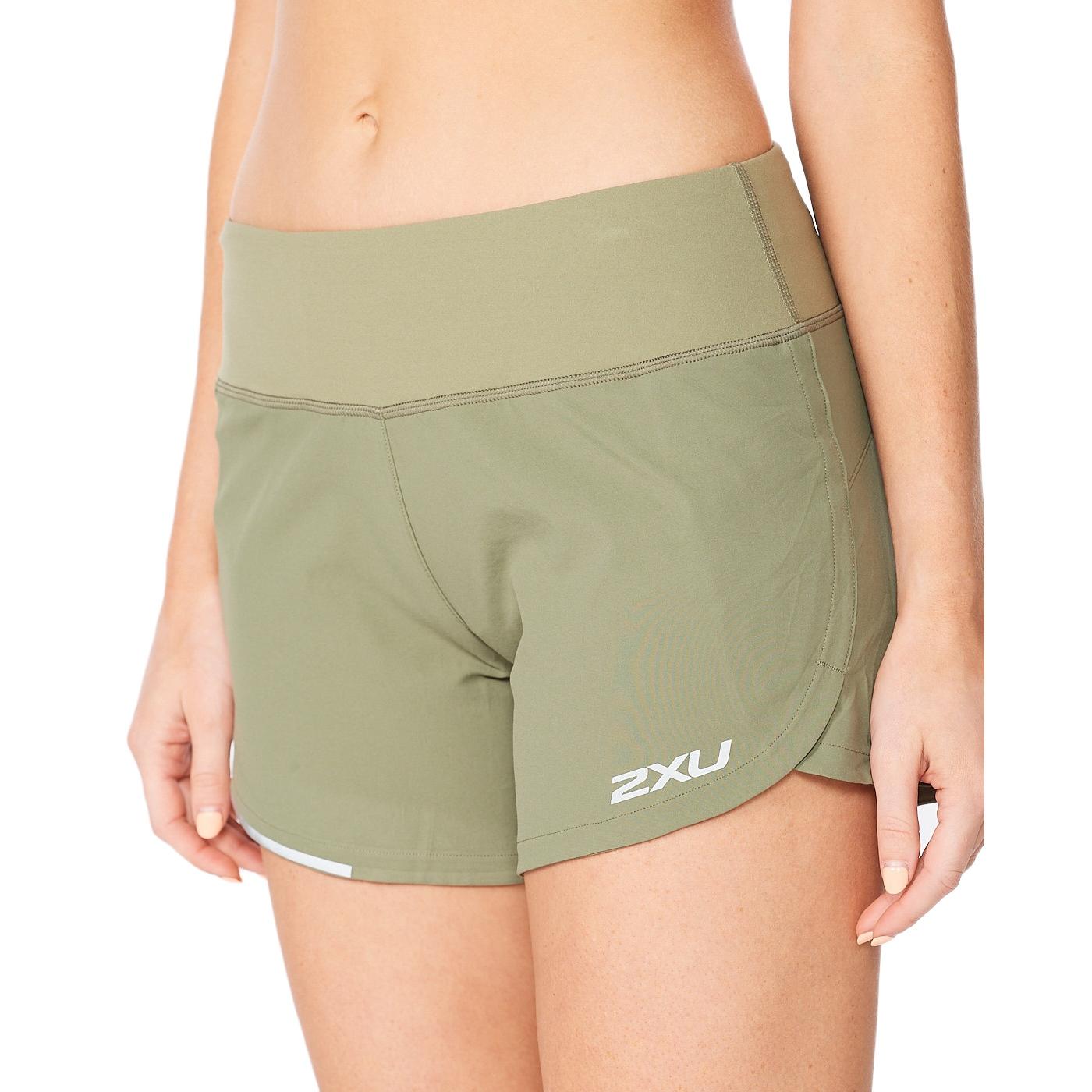 "Imagen de 2XU Aero 4"" Pantalon corto para mujer - alpine/silver reflective"