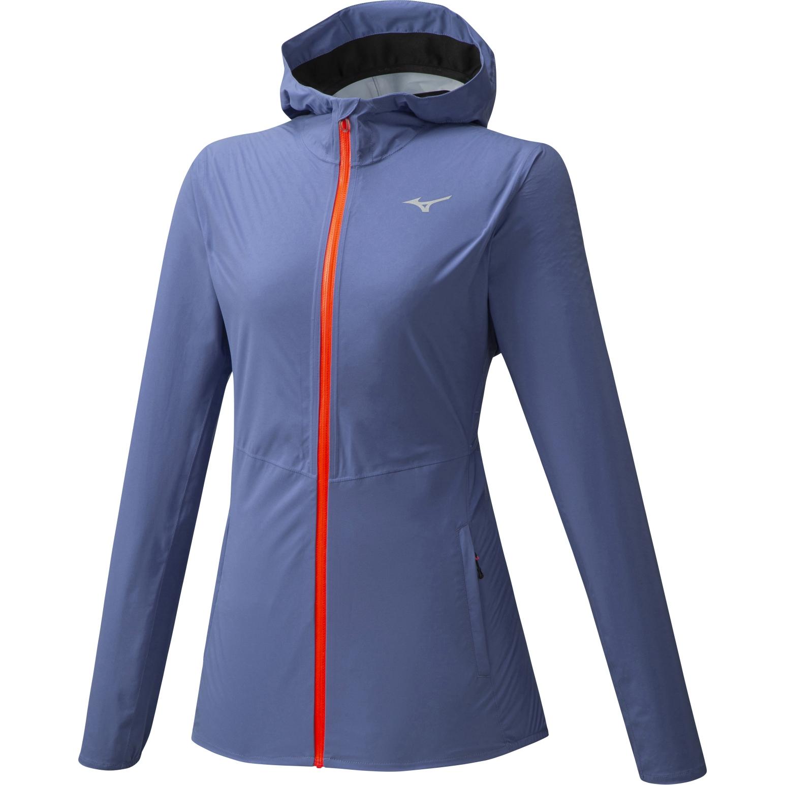 Image of Mizuno Waterproof 20k ER Women's Jacket - Marlin