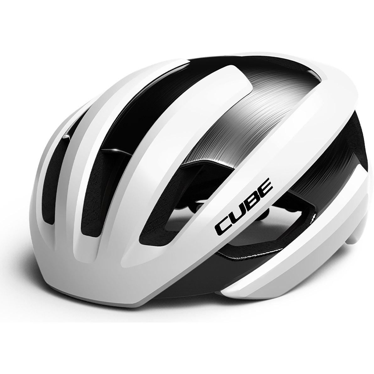 CUBE Helmet HERON - white