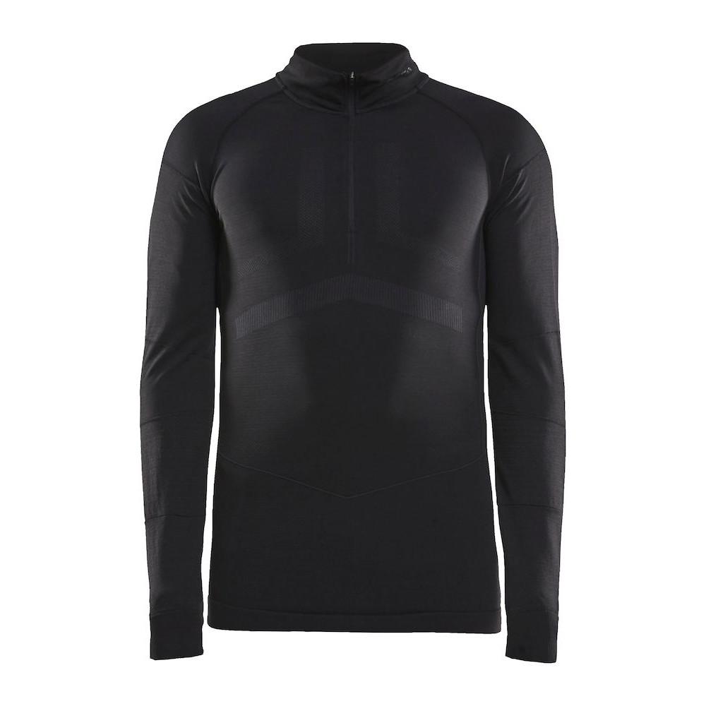 Craft Active Intensity Zip Men's Longsleeve 1907934 - 999995 Black/Asphalt