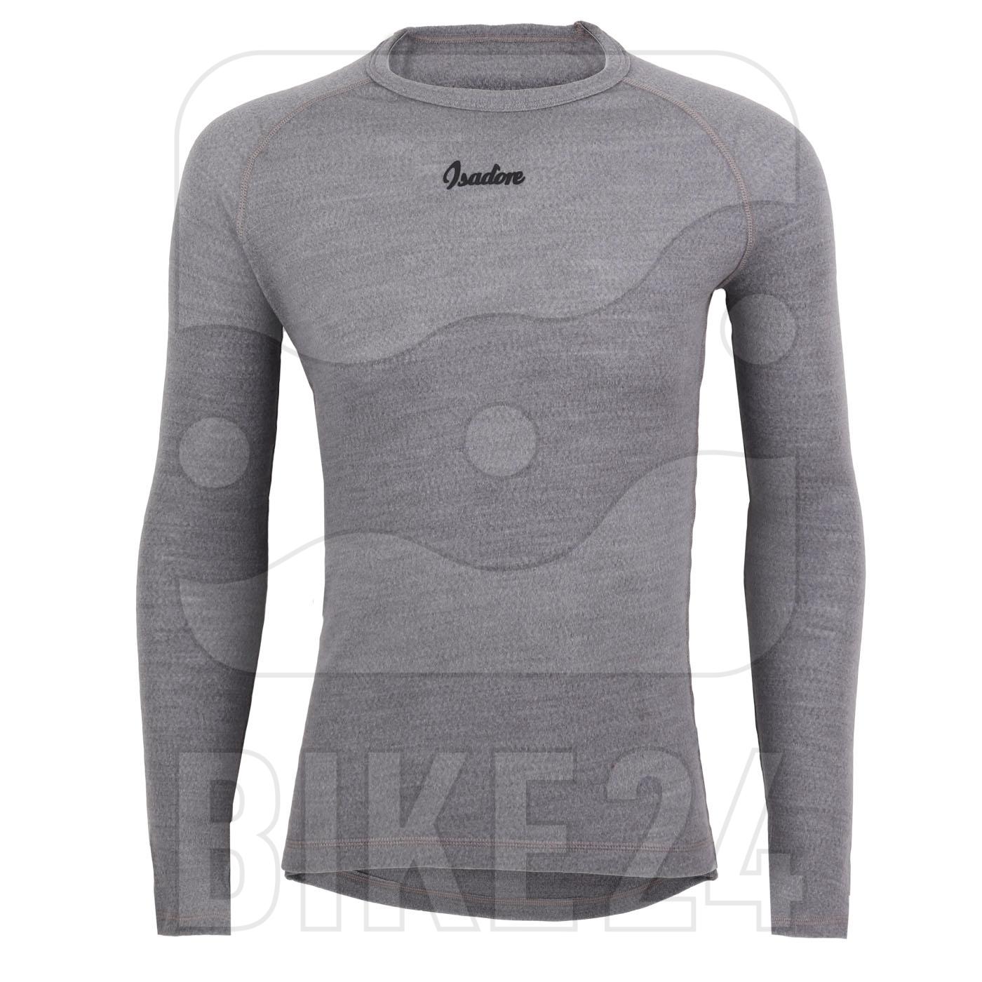 Isadore 100% Merino Long Sleeve Baselayer - Grey