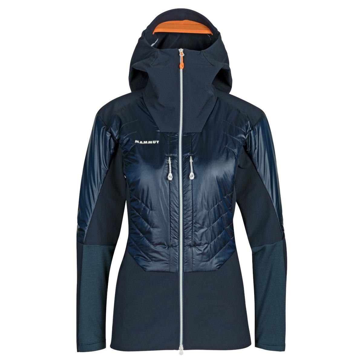 Mammut Eisfeld Softshell Hybrid Hooded Jacket Women - night