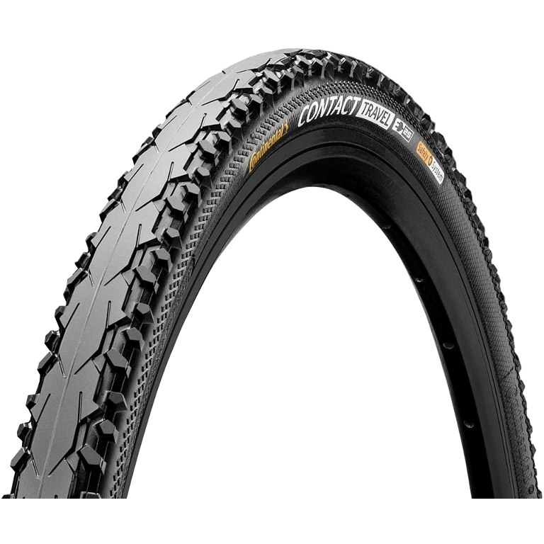 Continental Contact Travel Wire Bead Tire - 28x1.6 Inches - black