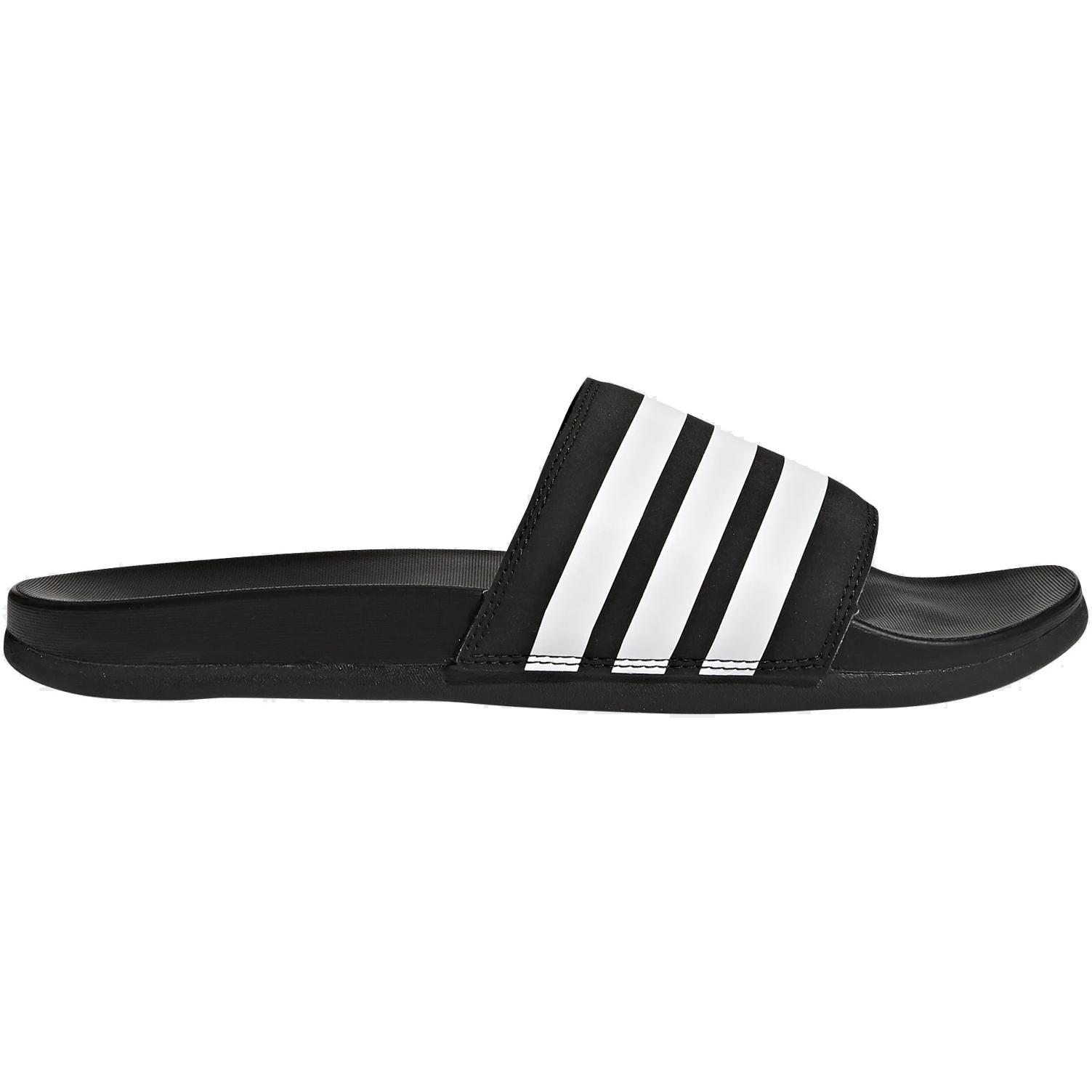 adidas Adilette Comfort Slides Bathing Shoes - core black/cloud white/core black AP9971