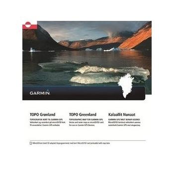 Picture of Garmin TOPO Greenland - microSD/SD card - 010-12367-00