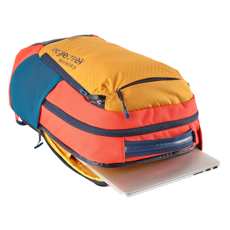 Image of Eagle Creek Wayfinder Backpack 30L - EC0A3SAU - sahara yellow