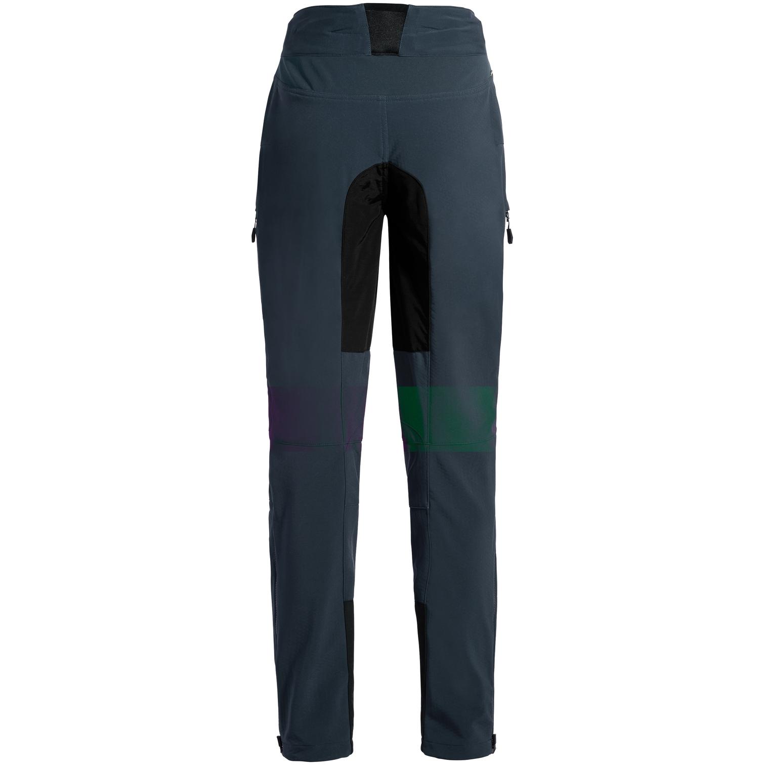 Image of Vaude Women's Qimsa Softshell Pants II - dark sea