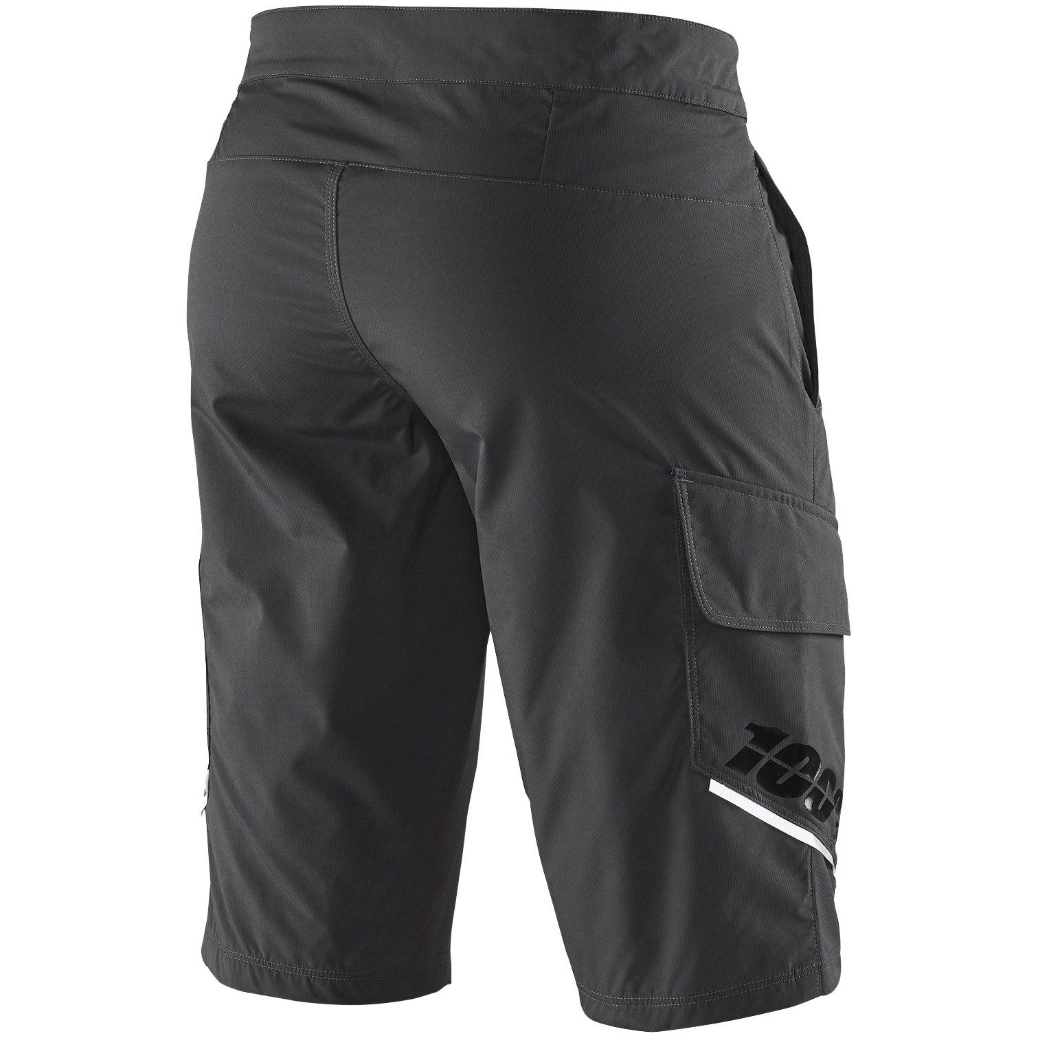 Imagen de 100% Ridecamp Shorts - Charcoal