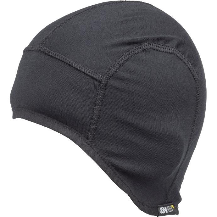 Imagen de 45NRTH Stavangar Lightweight Merino Cycling Cap Bajo casco - Black