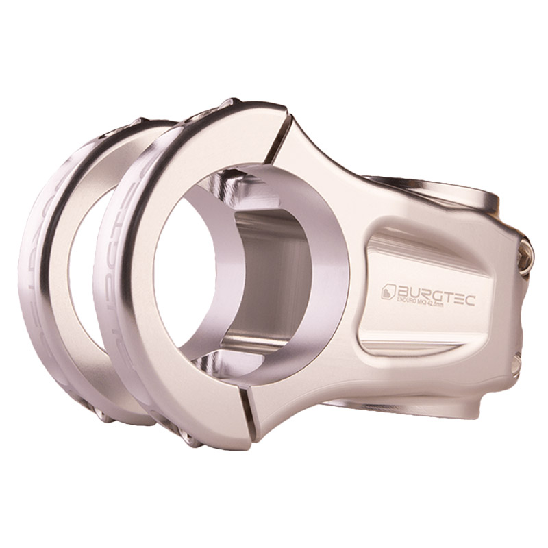 Burgtec Enduro MK3 - 35.0 Stem - Rhodium Silver